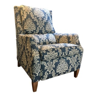 Arhaus Damask Upholstered Club Chair
