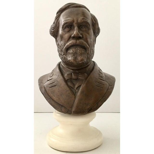 Vintage Ulysses S. Grant Bust Sculpture - Image 2 of 8