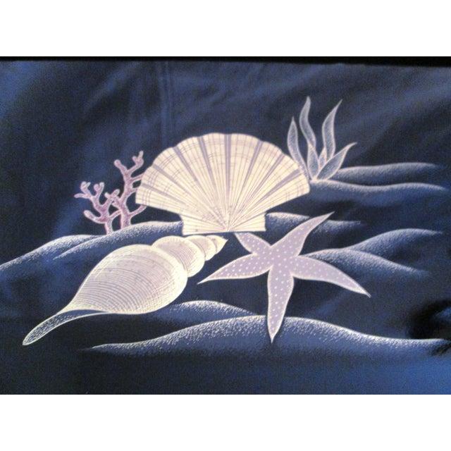 Image of Otagiri Sea Treasures Tray W/ Brass Accents