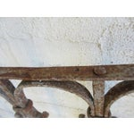 Image of Antique Victorian Iron Gate Architectural Element