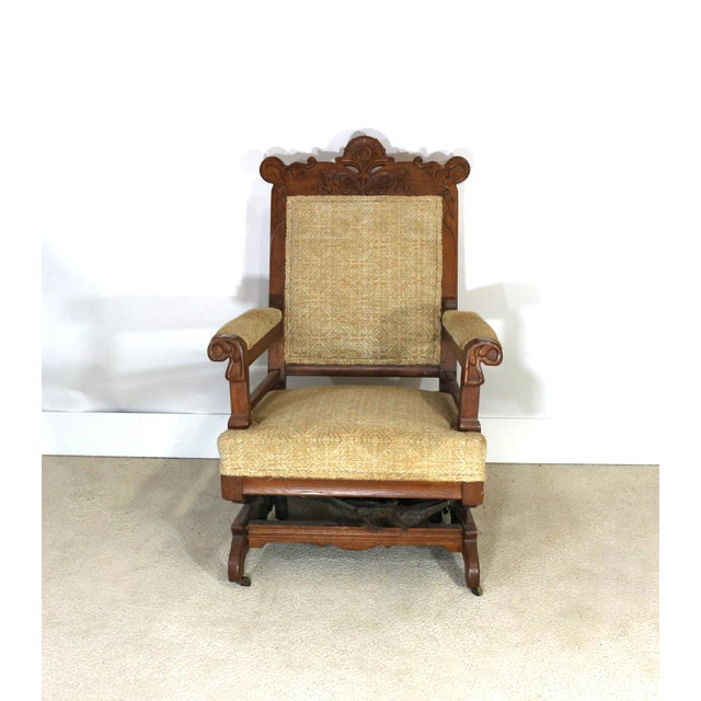 Image of 1880s Victorian Rocking Chair