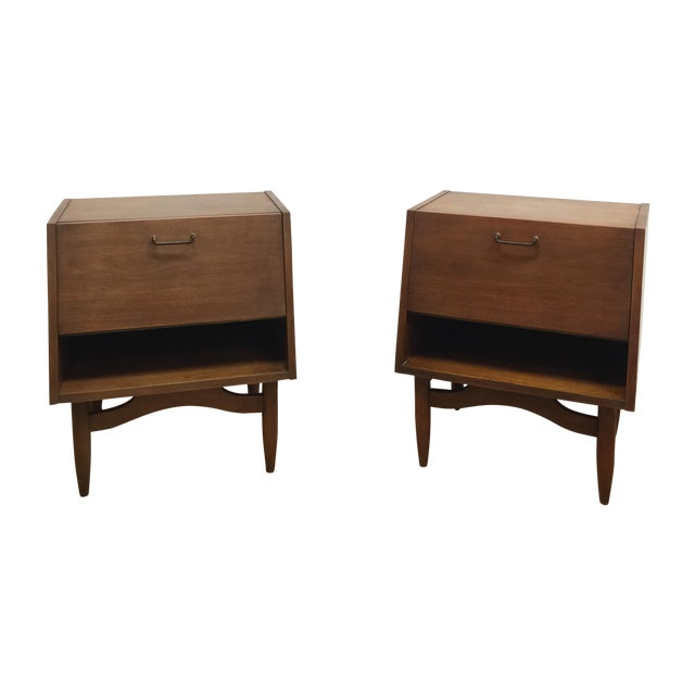 American of Martinsville Night Stands - Pair - Image 1 of 8