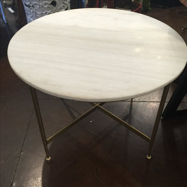 Marble Coffee Table Heavy: Marble Top Metal Coffee Table