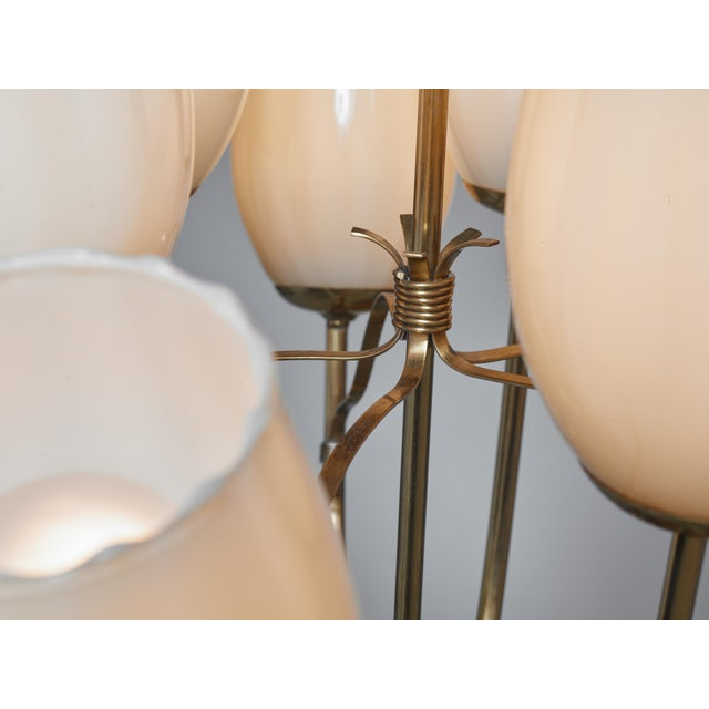 Paavo Tynell Chandelier for Sokos Helsinki House, Taito, Finland, 1950s - Image 5 of 5