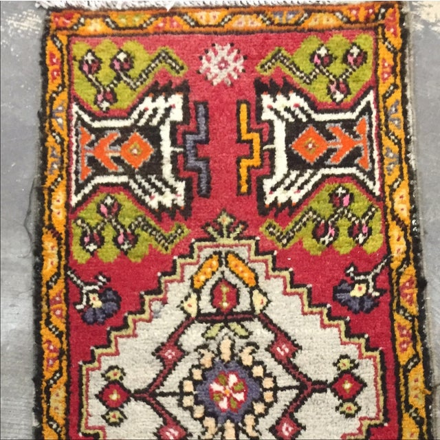 "Antique Anatolian Persian Rug - 1'7"" x 3'4"" - Image 5 of 8"
