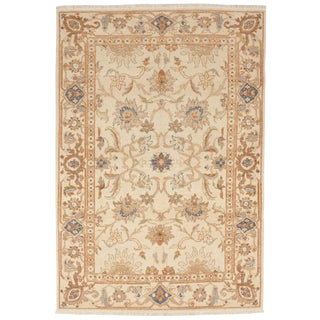 Antique Hand Knotted Oriental Rug - 4' x 6'