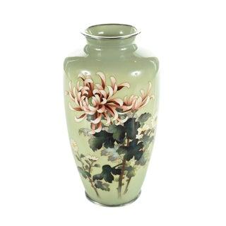 Vintage Japanese Cloisonné Ando Vase