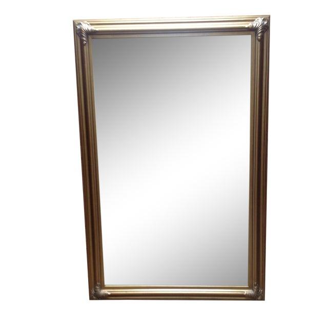 Image of Gilt Framed Beveled Glass Mirror