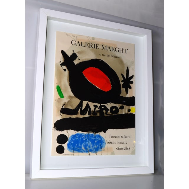 Joan Miró Lithograph Poster By Galerie Maeght - Image 2 of 11