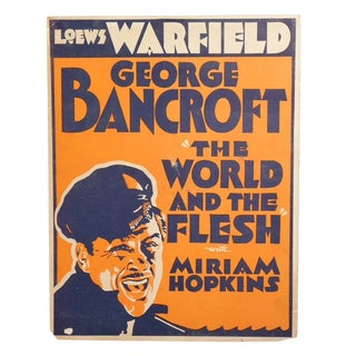 1932 World and the Flesh Movie Poster