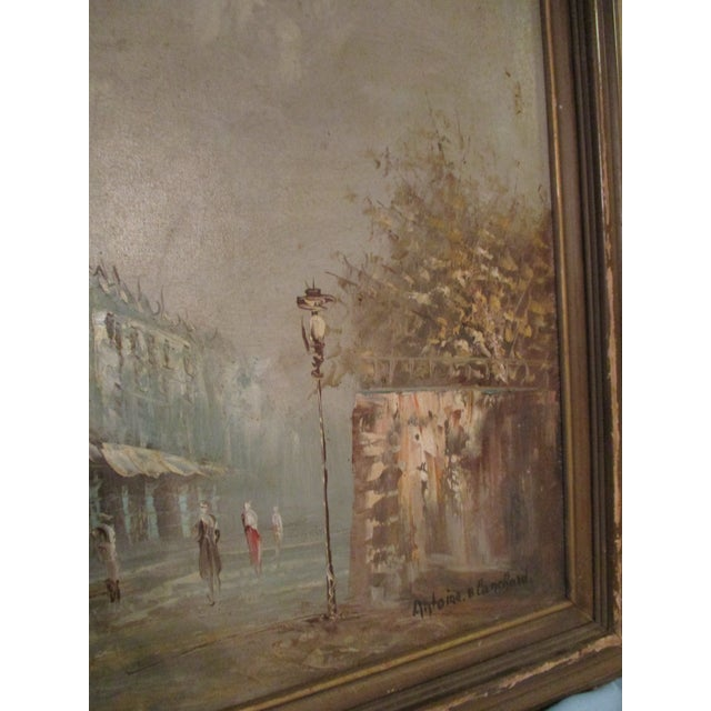 French Neo Impressionist Antoine Blanchard Oil on Canvas - Image 6 of 11