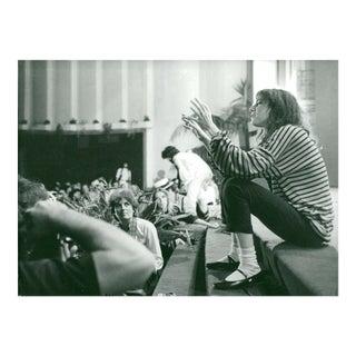 Vintage Patti Smith Poetry Photograph, 1970s