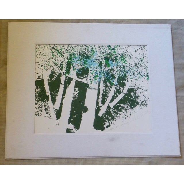 """""""Spring Two"""" Modernist Print by Calvin Libby - Image 2 of 11"""