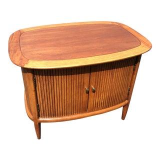 Vintage Tomlinson Mid-Century Modern Cabinet End Table
