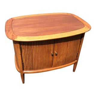 Vintage Tomlinson Mid-Century Modern Cabinet End Table