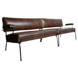 Mid-Century Wrought Iron Sectional