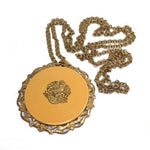 Image of Miriam Haskell Coat of Arms Necklace