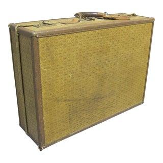 Vintage Sarreid LTD Leather Travel Case