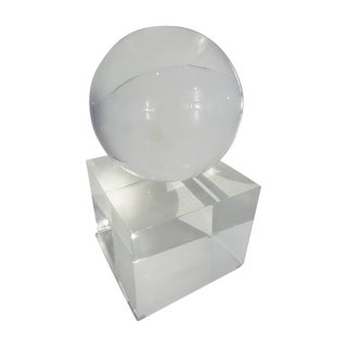 Lucite Sculpture by Charles Hollis Jones