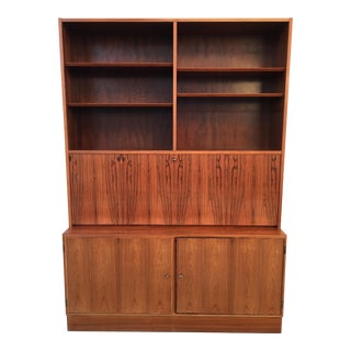 Paul Hundevad Mid-Century Rosewood Office Hutch