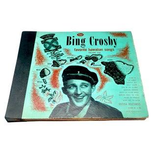 Bing Crosby Favorite Hawaiian Songs Record Book