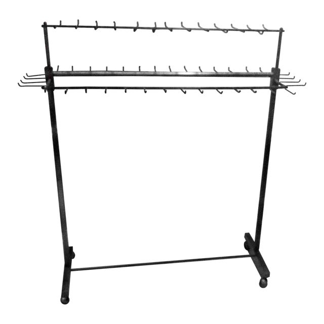 Industrial Two Tier Copper Rack Stand - Image 1 of 10