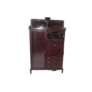 Antique Mahogany Victorian Curio/Desk
