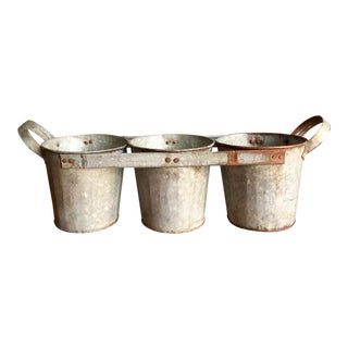 Vintage 3 Way Metal Bucket