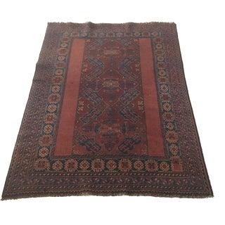 Antique Persian Rug - 4′1″ × 5′11″