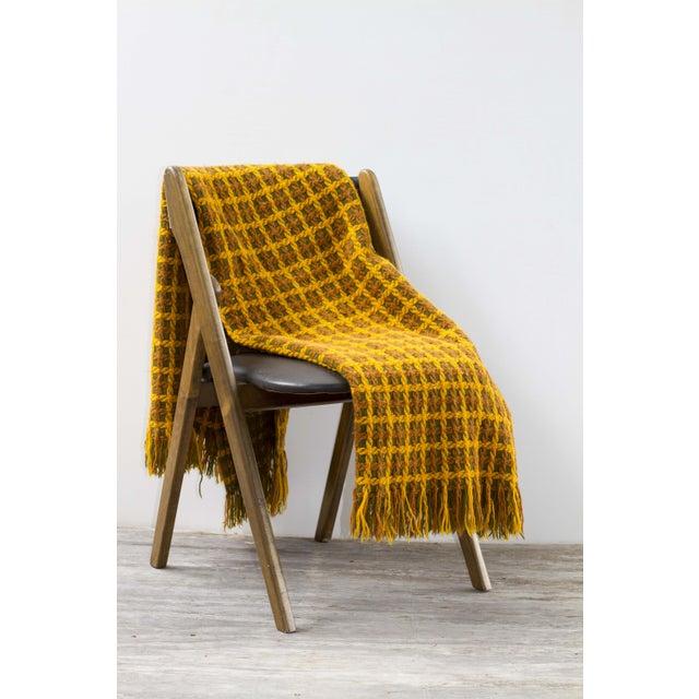 Vintage Pendleton Wool Knit Blanket - Image 3 of 7
