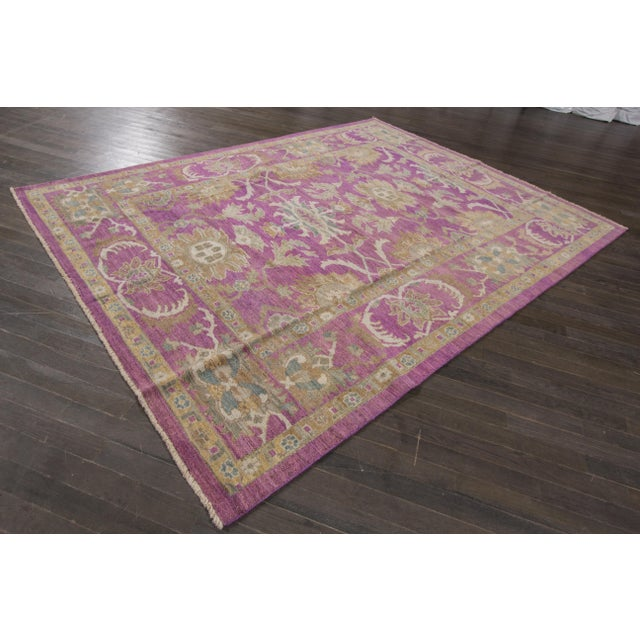 "Wool Sultanabad Rug - 8' x 10'6"" - Image 7 of 7"