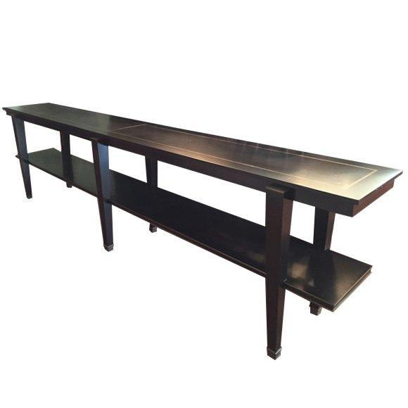 Image of Long Black Console