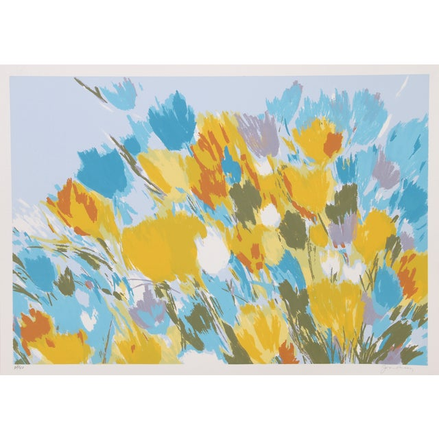 Image of Joan Paley Vintage 'Early Spring' Lithograph