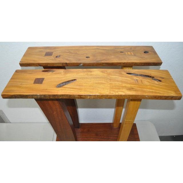 Dia Ates Hardwood Pedestal - Image 5 of 8