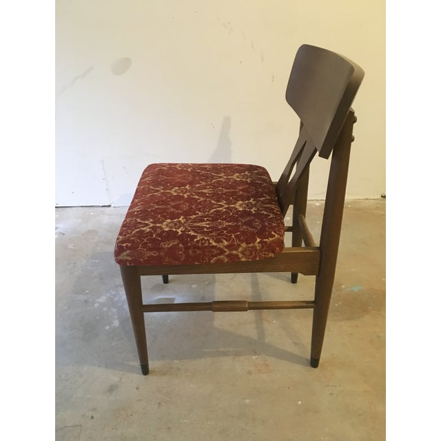 Image of Vintage Modern Danish Style Dining Chairs - Set of 6