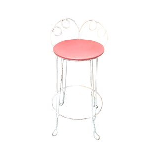 Vintate Iron Stools - Set of 4