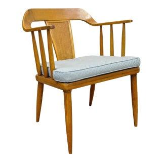 Vintage Tomlinson Sophisticate Mid Century Modern Dining Desk Arm Chair Danish B