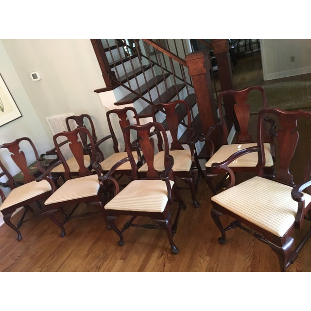 Fiddle Back Dining Chairs - Set of 8 - Image 7 of 10