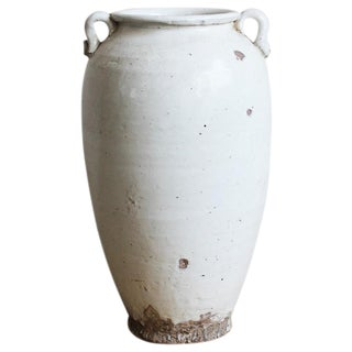White Milk Ceramic Pottery Pot