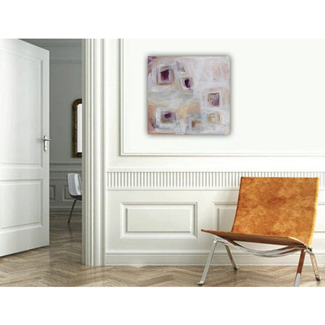 'Plum Pudding' Original Painting by Linnea Heide - Image 6 of 8