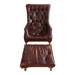 "Carl Forslund ""Sleepy Hollow"" Club Chair & Ottoman"