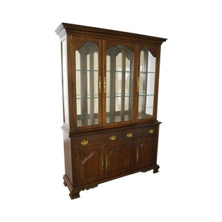 Pennsylvania House Solid Cherry Beveled Glass China Cabinet