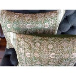 Image of Embroidered Silk Pillows - 2
