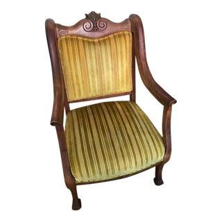 Vintage Yellow Armchair