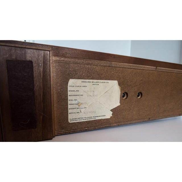 Howard Miller Mantle Clock - Image 6 of 6