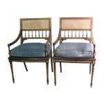 Image of Regency Armchairs - A Pair