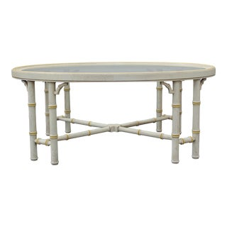 Lane Mid-Century Palm Beach Style Coffee Table