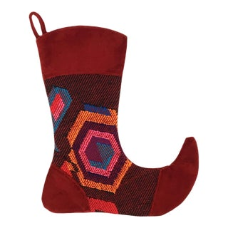 Kilim Christmas Stocking | Jasmine