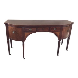 Chippendale Mahogany Buffet Table