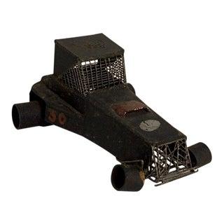 Homemade Iron Racing Car: Circa 1930